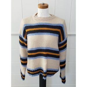 Urban outfitters wide stripe sweater